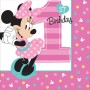 Minnie Mouse 1st Birthday Fun To Be One Beverage Napkins Pack of 16