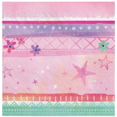 Girl-Chella Party Supplies - Beverage Napkins
