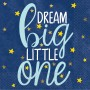 Twinkle Little Star Dream Big Little One Beverage Napkins 25cm x 25cm Pack of 16