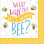 What Will It Bee? Beverage Napkins 25cm x 25cm Pack of 16