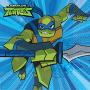 Rise of the Teenage Mutant Ninja Turtles Beverage Napkins Pack of 16