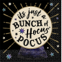 Halloween Spooks & Spells its just a bunch of hocus pocus Beverage Napkins Pack of 16