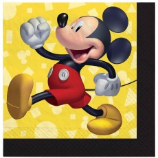 Mickey Mouse Party Supplies - Beverage Napkins Forever