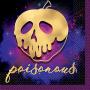 Disney Villains Beverage Napkins Poisonous Pack of 16
