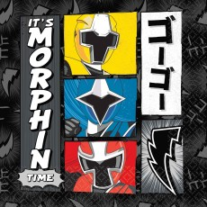 Power Rangers Party Supplies - Lunch Napkins Ninja Steel