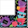 Mad Tea Lunch Napkins 33cm x 33cm Pack of 16