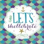 Mermaid Wishes Let's shellebrate Lunch Napkins 33cm x 33cm Pack of 16