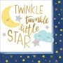 Twinkle Little Star Lunch Napkins 33cm x 33cm Pack of 16