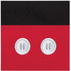 Mickey Mouse Party Supplies - Lunch Napkins Forever