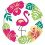 Round Hawaiian You Had Me At Aloha Lunch Plates 17cm Pack of 8