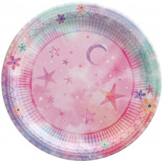 Girl-Chella Party Supplies - Lunch Plates