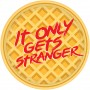 Round Halloween Stranger Things Lunch Plates 17cm Pack of 8