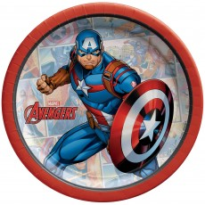Avengers Party Supplies - Lunch Napkins Powers Unite Captain America