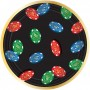 Casino Party Decorations Roll The Dice Lunch Plates