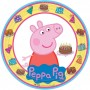 Round Peppa Pig Dinner Plates 23cm Pack of 8