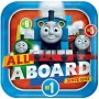 Square Thomas & Friends All Aboard Dinner Plates 23cm Pack of 8