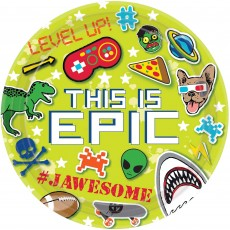 This is Epic Dinner Plates 23cm Pack of 8