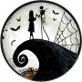 Round Halloween The Nightmare Before Christmas Dinner Plates 23cm Pack of 8