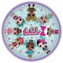 Round LOL Surprise Dinner Plates 23cm Pack of 8