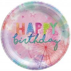 Girl-Chella Party Supplies - Dinner Plates