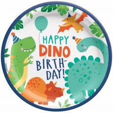Dinosaur Party Supplies - Dinner Plates Dino-Mite