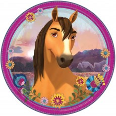 Spirit Riding Free Party Supplies - Dinner Plates