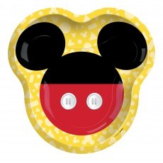 Mickey Mouse Party Supplies - Dinner Plates Forever Shaped
