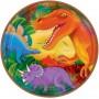 Round Prehistoric Dinosaurs Dinner Plates 23cm Pack of 8