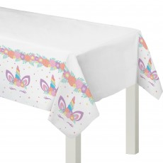 Unicorn Fantasy Party Supplies - Paper Table Cover Unicorn Party
