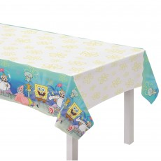 SpongeBob Party Supplies - Paper Table Cover