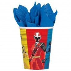 Power Rangers Party Supplies - Paper Cups Ninja Steel