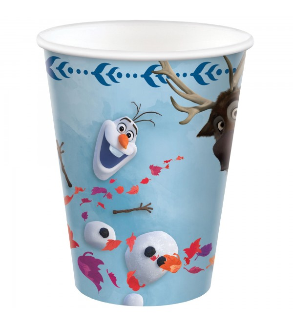 Disney Frozen 2 Paper Cups 266ml Pack of 8