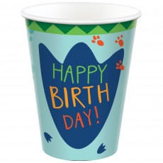 Dinosaur Party Supplies - Paper Cups Dino-Mite