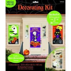 Halloween Family Friendly Scene Setter Decorating Kits Pack of 33