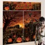 Halloween Field of Screams Pumpkins Wall Decorations Pack of 5