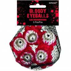 Halloween Party Supplies - Misc Decorations - Asylum Bloody Eyeballs
