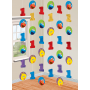 Elmo Turns One String Hanging Decorations 2.1m Pack of 6