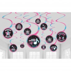 Internet Famous Party Decorations - Hanging Decorations Spiral Swirls