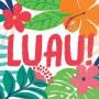 Hawaiian Luau Tropical Jungle Luau! Lunch Napkins Pack of 36