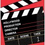 Hollywood Directors Cut Lunch Napkins 33cm x 33cm Pack of 36