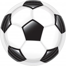 Soccer Party Supplies - Dinner Plates Goal Getter