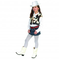 Cowboy Party Supplies - Child Costume Western Dress-up Kit