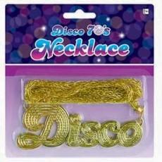 Disco & 70's Disco Fever 70's Necklace Jewellery