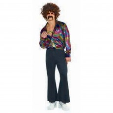 Disco & 70's Far Out Bell Bottoms Adult Costume Adult Standard Size