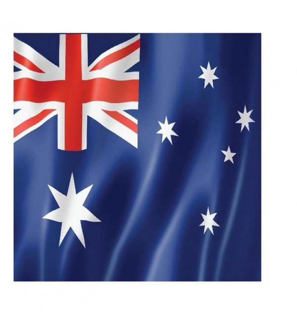 Australia Day Lunch Napkins Pack of 16