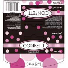 Pink Gender Reveal Paper Confetti 22g Single Pack