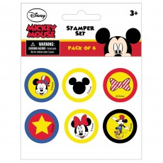 Disney Mickey Carnival Stamper Set Misc Accessories Pack of 6