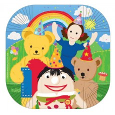 Square Play School Dinner Plates 25.4cm Pack of 8