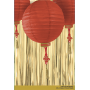 Chinese New Year Party Supplies - For Paper Lanters: Fringe & Tassel