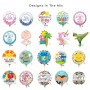 Misc Occasion Mini Shaped Balloons 23cm Pack of 20